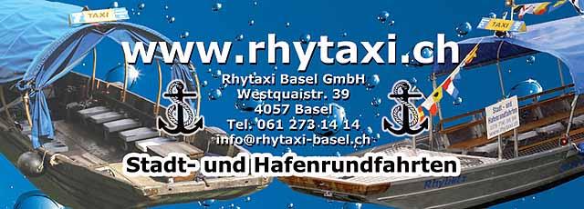 Herzlich willkommen beim Gästebuch vom Rhytaxi!